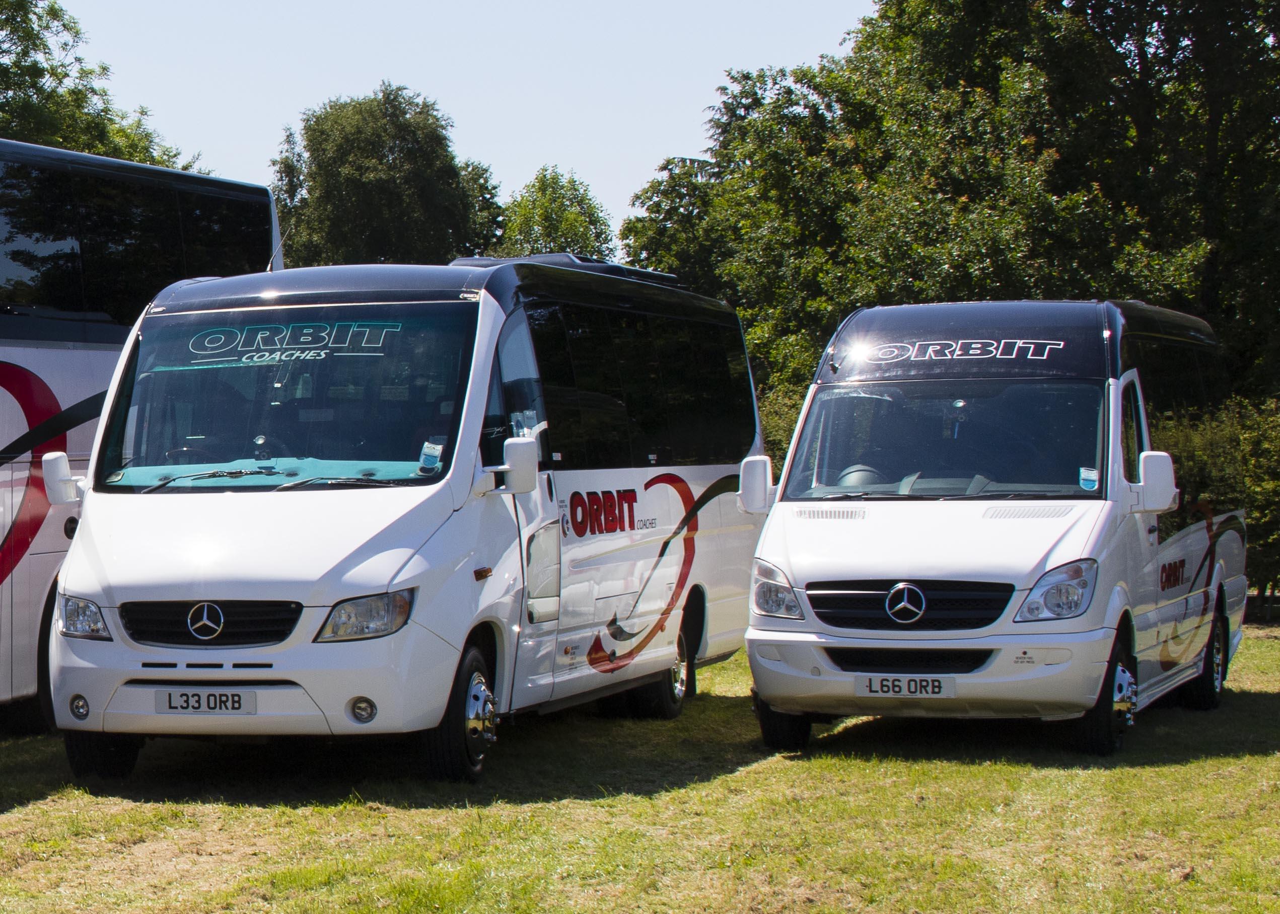 Orbit Coaches Minibus Hire